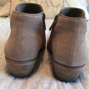 Sam Edelman Shoes - Sam Edelman Taupe Suede Booties size 6m